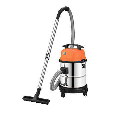Industrial Wet And Dry Vacuum Cleaner 1400 30L110v Suck And Blow Stainless Steel