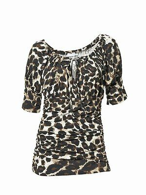 Shirt Animalprint Heine Class International fx Gr 36 NEU
