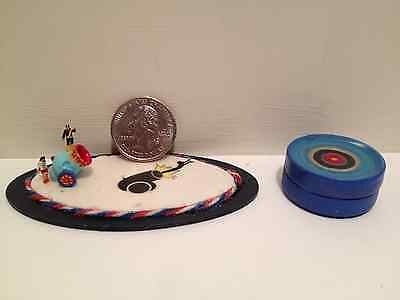 Z Scale HUMAN CANNON & LANDING POOL Carnival or Circus layout Scratch