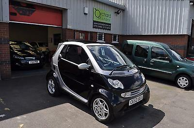 2002 SMART CITY-CABRIOLET 0.6 CITY PASSION SOFTOUCH CABRIOLET, Silver, Auto, 50K