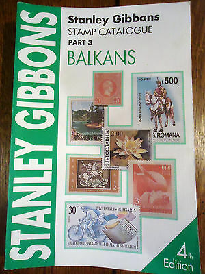 Stanley Gibbons stamp catalogue Balkans Pt 3 Fourth Edition 1998