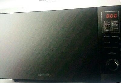 ElectriQ 25L Freestanding 900W Microwave Oven in Black with Digital EIQMW925SOLO
