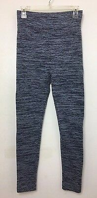 MOTHERHOOD MATERNITY Womens Tights One Size OS Heather Gray Fleece Lined Knit