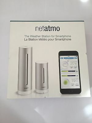 New Sealed Netatmo Smartphone Indoor & Outdoor Wireless Weather Station Monitor
