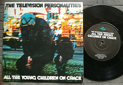 """TELEVISION PERSONALITIES All The Young Children UK Domino 7"""" AS NEW vinyl record"""