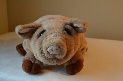 Applause Lou Rankin and Friends Harlan the Pig Puppet Plush EUC