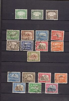 Aden.  GVI. 1937-1952. A selection of part sets MH/FU.