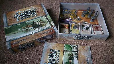 A Game of Thrones the Card Game Core set First Edition and Baratheon House Card