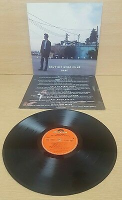 Lloyd Cole ‎– Don't Get Weird On Me Babe Record Vinyl 1991 Vintage
