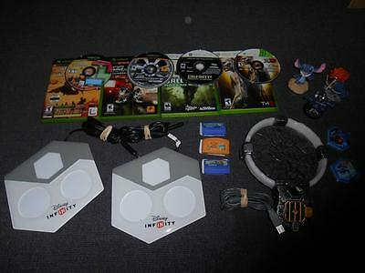 Lot of 15 Used Xbox and Xbox 360 Game and Accessories - Call of Duty and more!