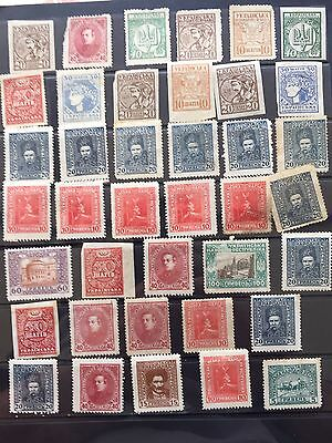 Ukraine Stamp Collection From Old Albums