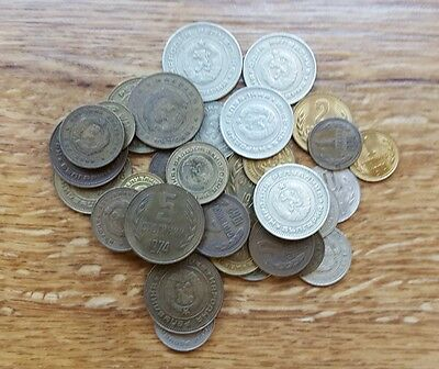 Bulgarian Bulgaria coins mixed lot