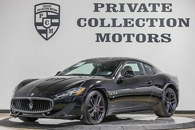 2014 Maserati Gran Turismo  2014 Maserati Gran Turismo Sport 1 Owner Clean Carfax 9k Miles