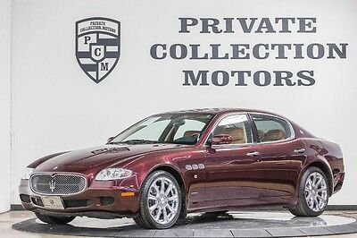 2007 Maserati Quattroporte  2007 Maserati Quattroporte Executive GT Low Miles 2 Owner Clean Carfax`