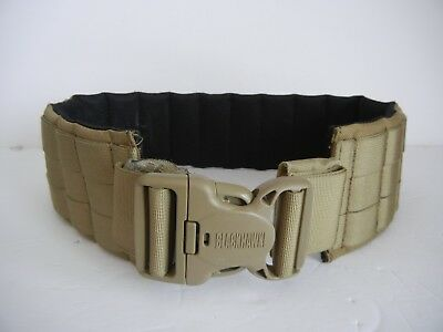 PADDED PATROL BELT by BLACKHAWK Size Small