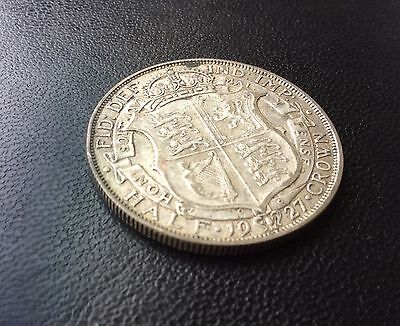 1927 George V silver Halfcrown