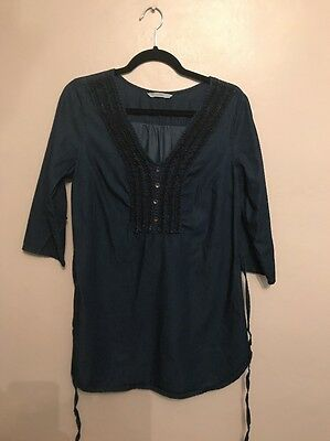 Excellent Condition, Ladies George Tunic Top In A Uk Size 10