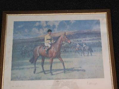 horse racing sign print  ARKLE SIGNED `PAT TAAFFE   L@@K