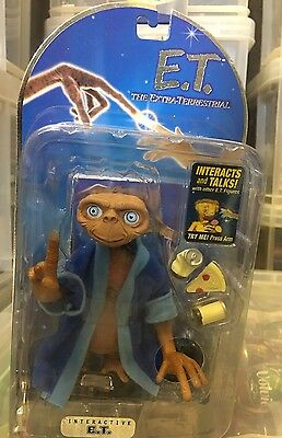 Rare 2001 ET The Extra Terrestrial In Bathrobe MOMC ToysRUs Exclusive