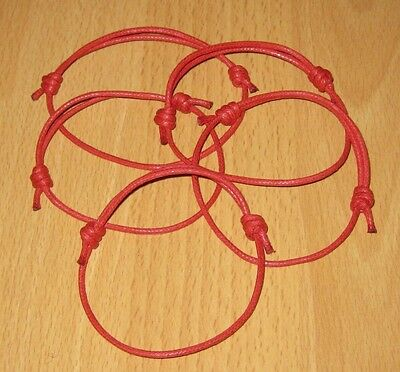 2 Red String Wristbands Jewish Israel Bangle Protect Against Evil Eye Best Price