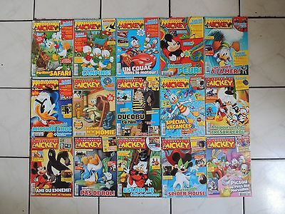 Gros lot de 115 Journal de Mickey