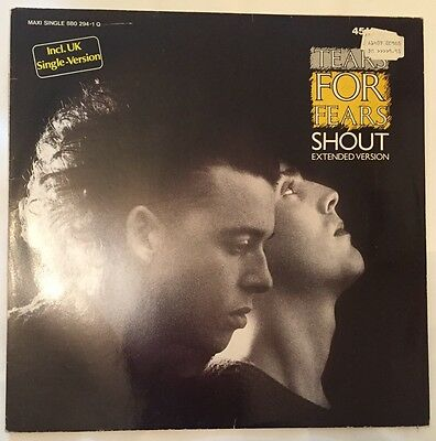 "12"" - Maxi-Single: TEARS FOR FEARS - Shout"