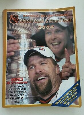 NHL Official Guide & Record Book 2004 NewJersey Devils