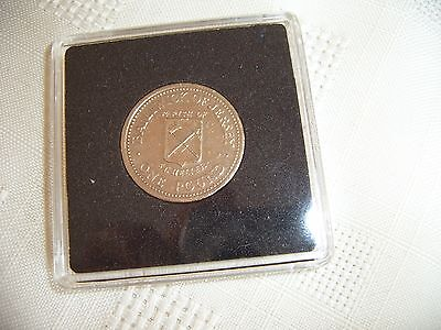 1983 Bailiwick of Jersey Parish of St. Helier,One Pound Coin,