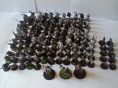 Lord of the rings warhammer army 133 models (lot 2854)