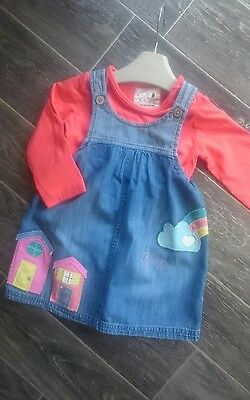 girls next SUMMER dress age 9-12 months