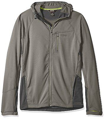 Outdoor Research Transition Hoody, Pewter/Charcoal, Xx-Large