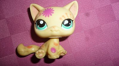 Authentic Littlest Petshop #1231 Chat Siamois Siamese Kitty Cat Tatoo
