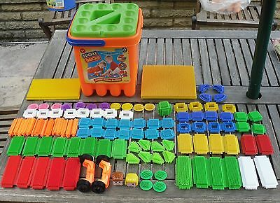Stickle Bricks Junior Super Builder Set Plus Extras - 100 Pieces