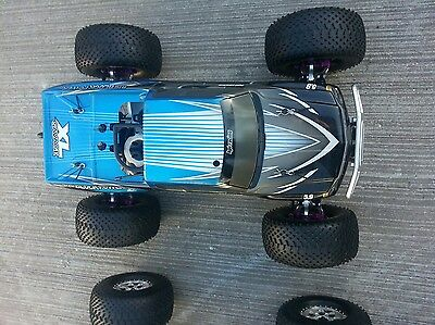 hpi savage 5.9xl  with INTEGY  Alloy upgrades  .