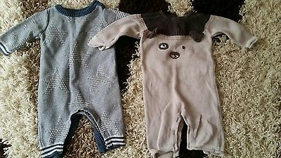 Next Baby Boy / Girl Romper Suits 3-6 months