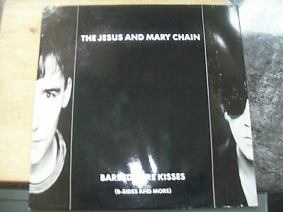 Jesus & Mary Chain - Barbed Wire Kisses - superb LP (BYN15) - lovely condition
