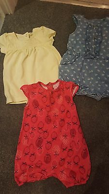 baby girls romper 3-6 months bundle