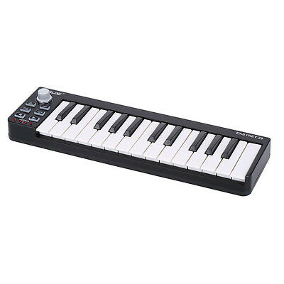 Worlde Easykey 25 Keyboard Mini 25-Key USB MIDI Controller Musical Y4X8