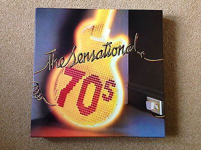 VARIOUS The Sensational '70s UK 10 X LP vinyl BOX Set