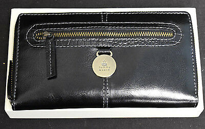 "Tommy & Kate leather purse, in a presentation box. 7.5"" long. (E3)"
