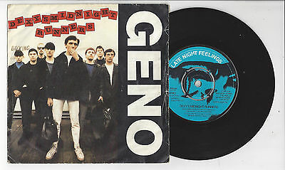 """DEXYS MIDNIGHT RUNNERS Geno/Breaking Down The Walls Of Heartache-1980 7"""" Single"""
