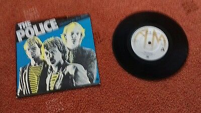 "The Police Walking On The Moon 7"" Single"