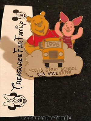 Disney Pin Winnie the Pooh 100 Years of Dreams #74 Great School Bus FREE SHIP