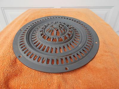 very ornate antique cast iron heating grate vent grate LAST ONE!