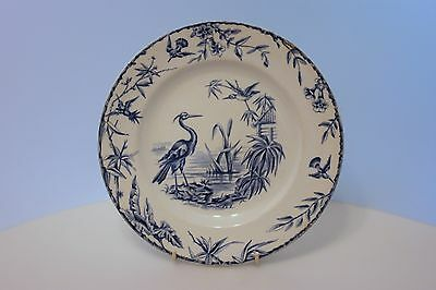 RIDGWAYS blue and white transfer plate INDUS 1877