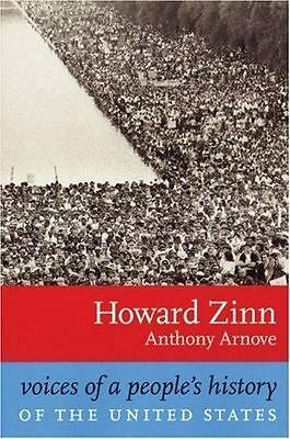 Voices of a People's History of the United States Zinn, Howard Paperback