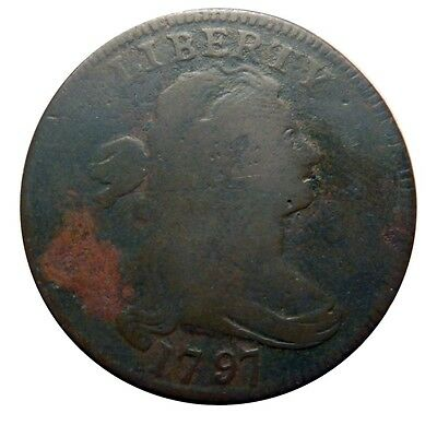 Large cent/penny 1797 nice entry level example clear date