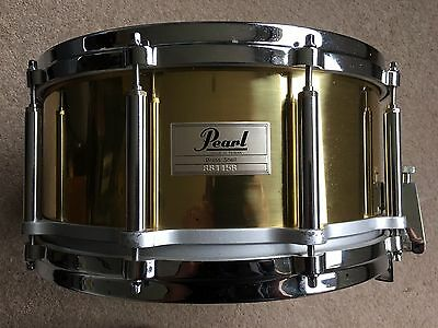 """Pearl 14.5""""x6"""" Brass Free Floating Snare Drum"""