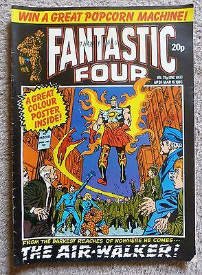 Fantastic Four comic March 1983