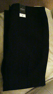 "Matalan - Ladies Black Bootcut Trousers - SZ14 Inside Leg 31"" BNWT"